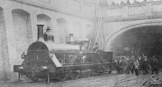 Steam Locomotive October 1862-1865 public domain author unknown