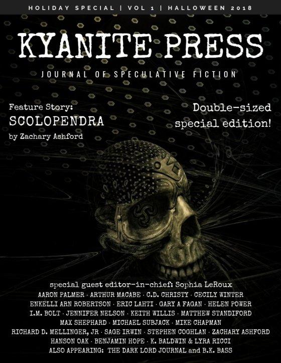Kyanite Press Halloween Benjamin Hope