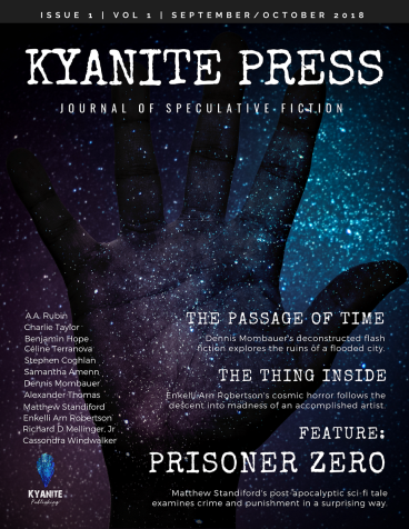 Kyanite-Press September Issue Benjamin Hope