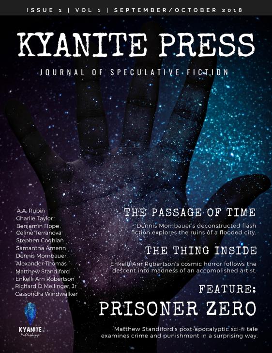 Kyanite-Press September Issue Benjamin Hope