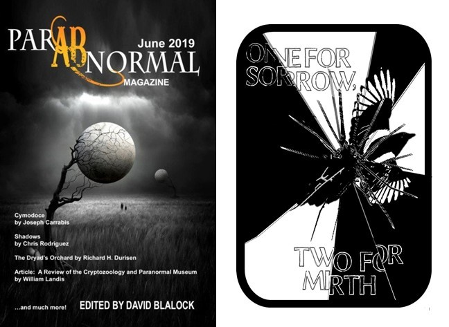 One for Sorrow Two for Mirth ParABnormal Mag June 2019